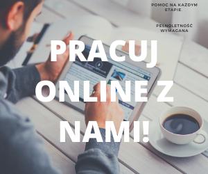 Praca Online. Pewne zarobki. Polska, legalna firma